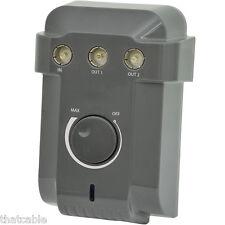 2-wege TV/DAB Antenne Verteilung Verstärker/Verteiler Verstärker Amp Gain