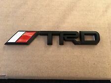 NEW TOYOTA TRD BLACK 3M SPORT TRUNK TAILGATE I FENDER EMBLEM LOGO DECAL