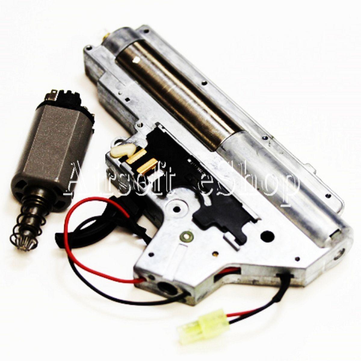 Airsoftmega Cyma 6 mm  Completo MP5 AEG caja de cambios de V2 versión 2 con motor  alta calidad