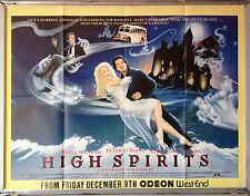 Cinema Poster: HIGH SPIRITS 1988 (Odeon Quad) Peter O'Toole Daryl Hannah