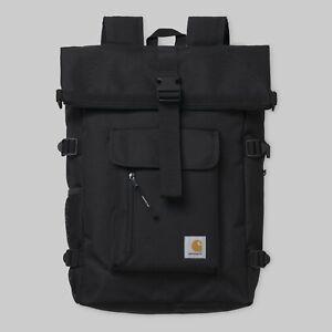 Carhartt-Philis-Backpack-21-5L-Black-Laptopfach-I026177-Neu