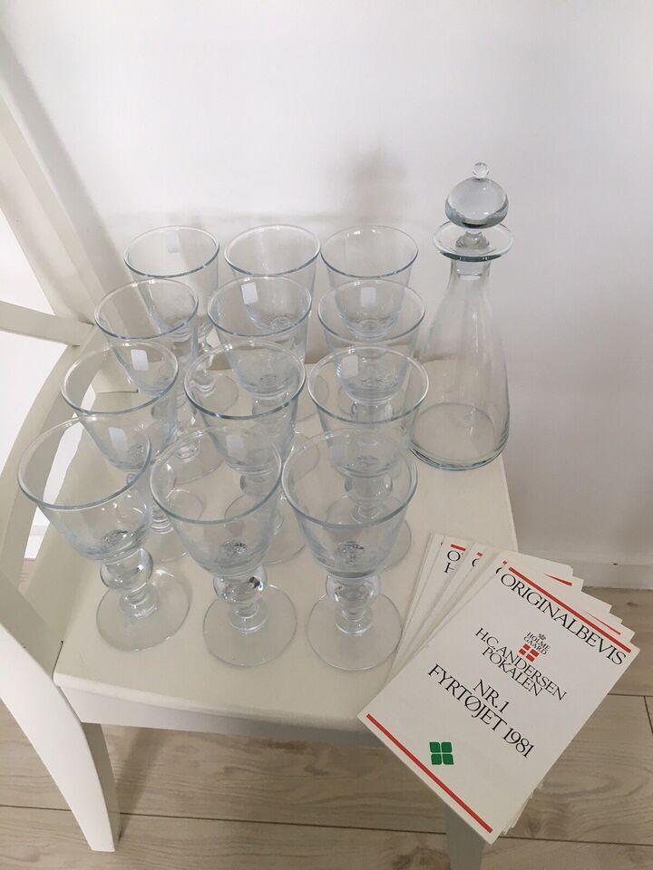 Glas, H. C. Andersen vinglas, Holmegaard H. C. Andersen