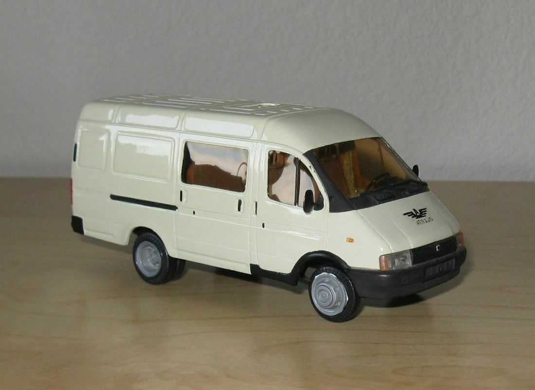 1   43 gaz-2705-044 lieferwagen cherson modelle russischen modell херсон газ газель
