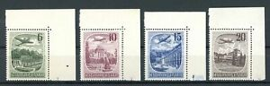 Tschechoslowakei MiNr. 678-81 postfrisch MNH (W649