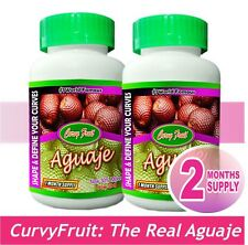 Aguaje Pills from Curvy Fruit 100% Genuine, 2 Months Supply BIG DEAL (US Seller)