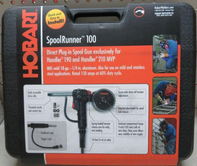Hobart SpoolRunner 100 Spool Gun - 300796 for sale online ...