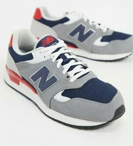 Asesor Volcán mineral  NEW - NEW BALANCE Men's 507 ML570ATY Grey/White/Red/Blue ATHLETIC SHOES -  US 10   eBay