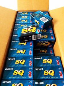 21x-Maxell-SQ-90-Type-II-Audio-Kassette-blank-tape-cassette-90-Min