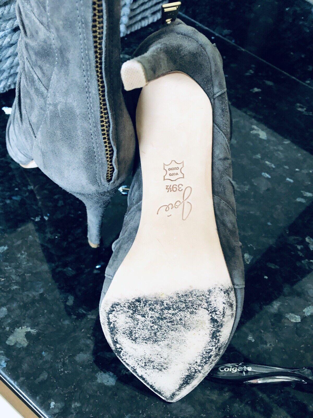 JoieLace JoieLace JoieLace Up Back Zip Heels Size 8.5 52e791