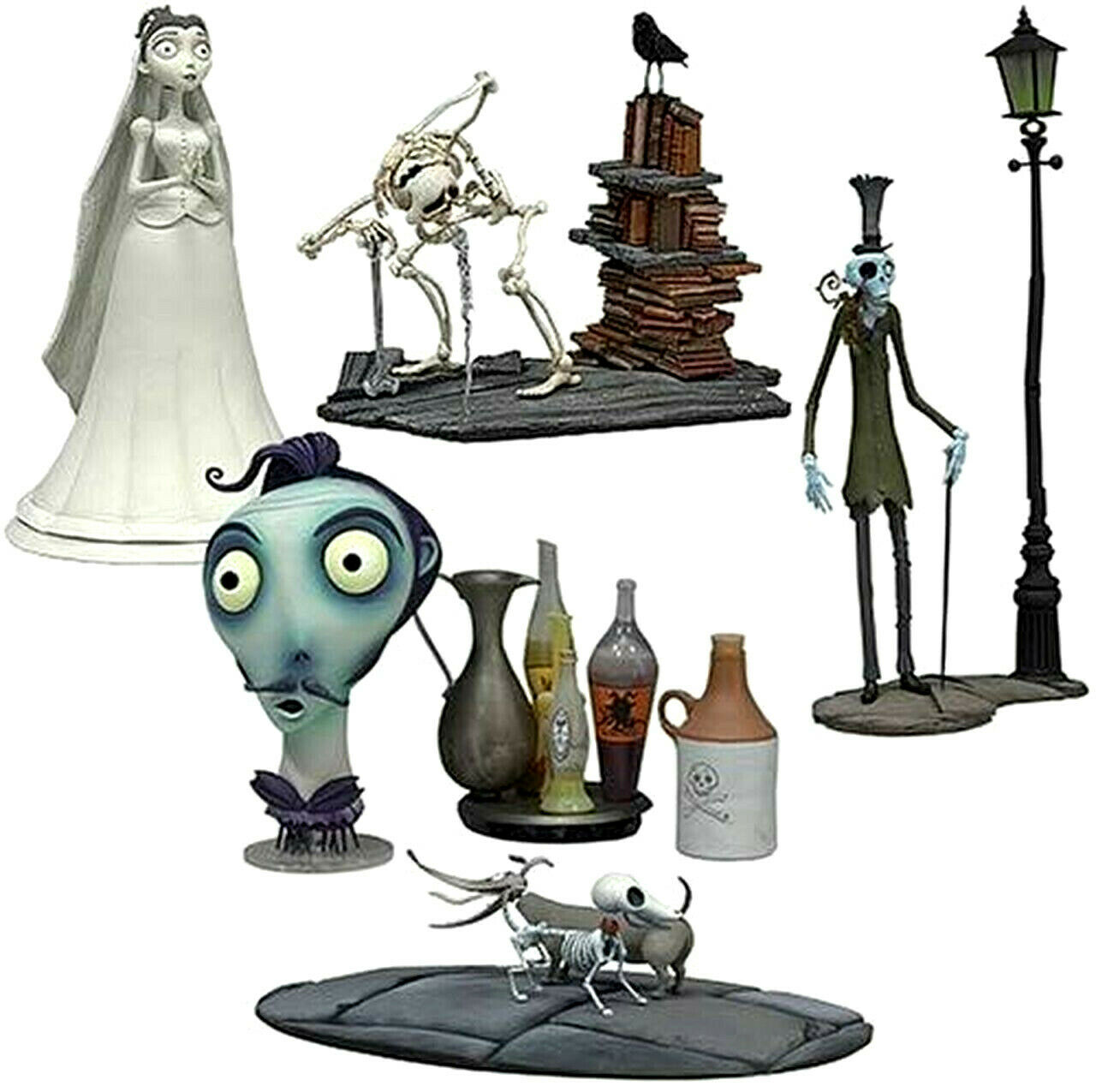 Corpse Bride Minifiguren Serie 2 bis 11cm Mcfarlane
