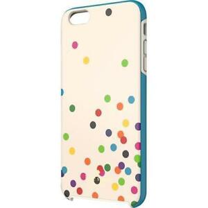 huge selection of f2a51 91cd6 Details about Genuine Kate Spade NY Confetti Color Polka Dot iPhone 6 6S  Plus Hard Shell Case
