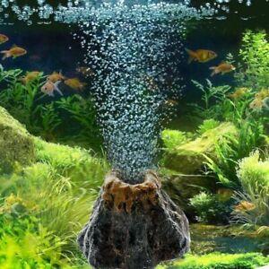 Aquarium-Volcano-Shape-Oxygen-Pump-Fish-Tank-Air-Bubble-Ornament-Decor-Ston-M7P7