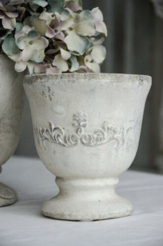 Übertopf Pflanztopf Terrakottatopf Jardiniere Kübel Blumentopf Shabby Chic gr
