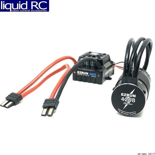 Hobbywing 38010403 EZcorrere MAX8 COMBO  - TRX PLUG   4268SL 2600KV  godendo i tuoi acquisti