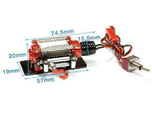 Zubehoer-fuer-Crawler-1-10-Aluminium-Power-Winde-D90-separate-on-off-Schaltung