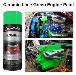 lime green coating spray  brake caliper engine enamel custom paint high temp ebay