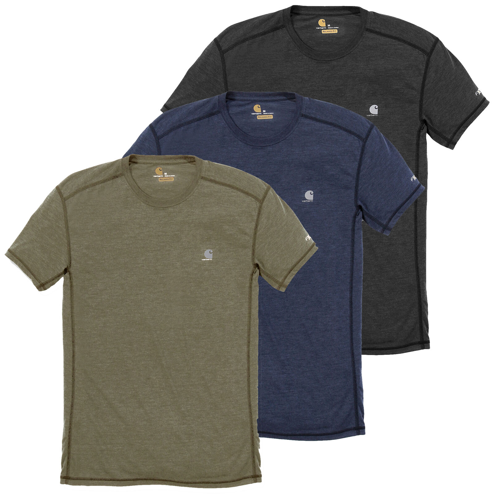 Carhartt Men's T-Shirt Force Ext Breathable Freedom of Movement S-XXL