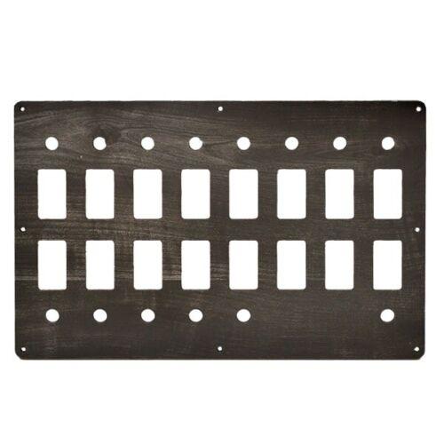 Rinker 310 Plastic 12 X 7 1//2 Inch Boat Blank Switch Breaker Panel 2060856