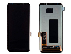 Black-Samsung-Galaxy-S8-Plus-G973-LCD-Digitizer-Frame-Screen