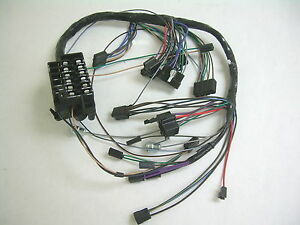 1964 chevy impala under dash wiring harness with column shift rh ebay com 63 impala wiring harness 63 impala wiring harness
