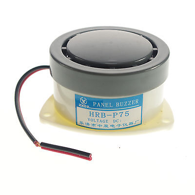 HRB-PS60 30mm Industrial Panel Alarm Electronic Buzzer 12V-220V