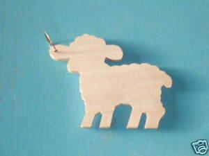 Wooden-Key-Ring-039-Lamb-039