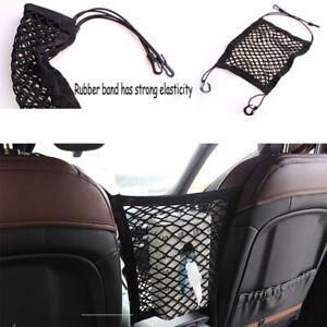 Auto-Car-Storage-Net-String-Pouch-Bag-Phone-Holder-Pocket-Organizer-Black