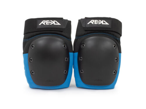 Skate and BMX Black//Blue Rekd Ramp Knee Pads for Scooter