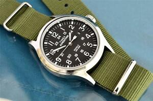 VINTAGE-TIMEX-MILITARY-STYLE-24-HOUR-40MM-INDIGLO-WATCH-G-10-STRAP