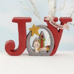 Christmas Hallelujah.Details About Joy Nativity Star Hallelujah Blossom Bucket Christmas Figurine Resin