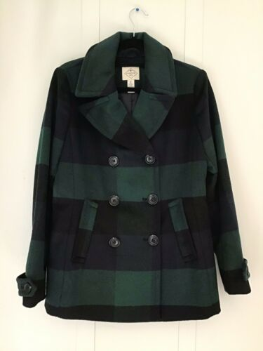 uldblanding Plaid St Bay Ærmejakke Johns M Sz Mørkegrøn Sort Multicolor 6O6RWTPnqZ
