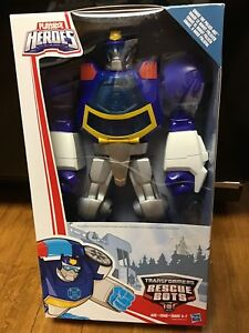 Playskool Heroes Transformers Rescue Bots Chase La figurine de police-bot Nouveau