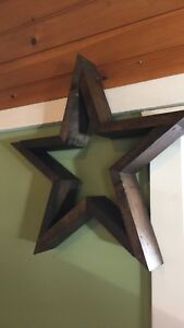 Details About Large Wooden Stars Wall Star Decor Farm House Decor Rustic Star