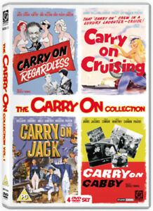 Carry-On-Volume-2-DVD-2008-Sid-James-Thomas-DIR-cert-PG-4-discs-NEW