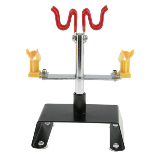 Airbrush Holder Holding 4 Clamp-On Mount Table Bench Station Gravity Stand