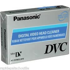 Cassette mini dv PANASONIC de nettoyage (cleaner head) TOUS CAMESCOPE  neuf