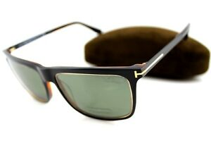 4d6a58c416db9 Image is loading POLARIZED-TOM-FORD-KARLIE-Black-Havana-Grey-Green-