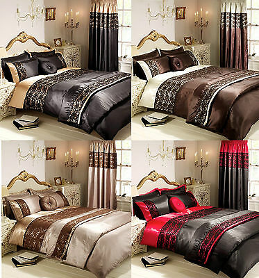 Luxury Lace Boutique Quilted Bedspread Throw With 2 Pillowcases , Double - King