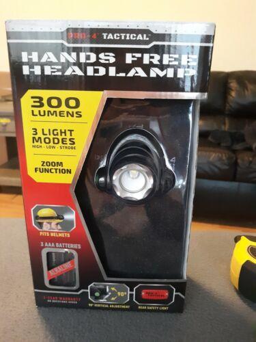 4 Tactical mains-libres projecteur Super Bright PRO