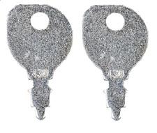 2 Indak Equipment Ignition Keys Deere Polaris Mtd Murray Honda Sears Snapper