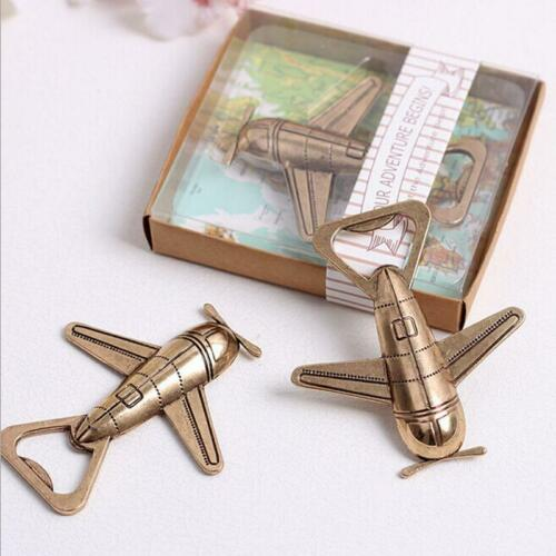 New Airplane Bottle Opener Gift Box Air Plane Travel Beer Bottle FA