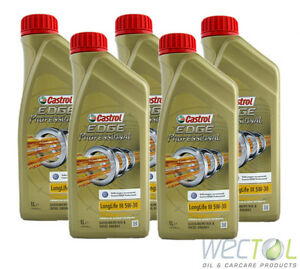 5x1 liter castrol edge titanium fst professional longlife. Black Bedroom Furniture Sets. Home Design Ideas