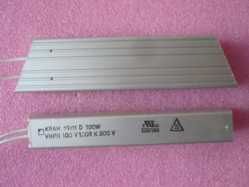 Resistencia vhpr 100 vatios V 15r bremswiderstand alta carga de resistencia 100w 15ohm