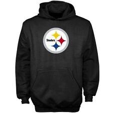Reebok NFL Pittsburgh Steelers Hoody (M) Black