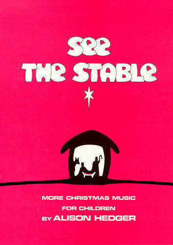 See The Stable Christmas School Musical Nativity PLAY PVG TEACHERS Music Book