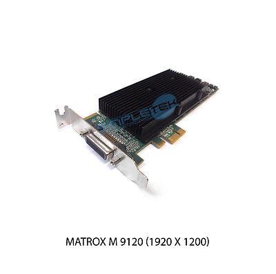 SCHEDA VIDEO MATROX M9120 512MB PCI EXPRESS LOW PROFILE GARANZIA