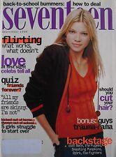 AMY SMART September 1996 SEVENTEEN Magazine KEANU REEVES / FOO FIGHTERS / BECK