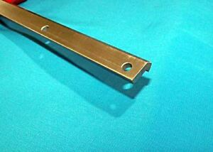 VRD-2-39-5-8-034-2-V-TRACK-STEEL-DRILLED-CNC-actuator-guide-rail-V-groove-bearing