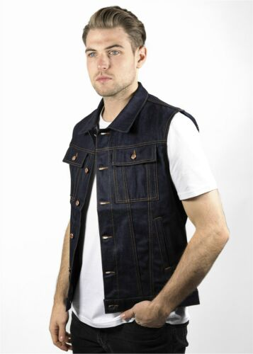John Doe Denim Raw Vest Men's Jeans Denim Vest Vin