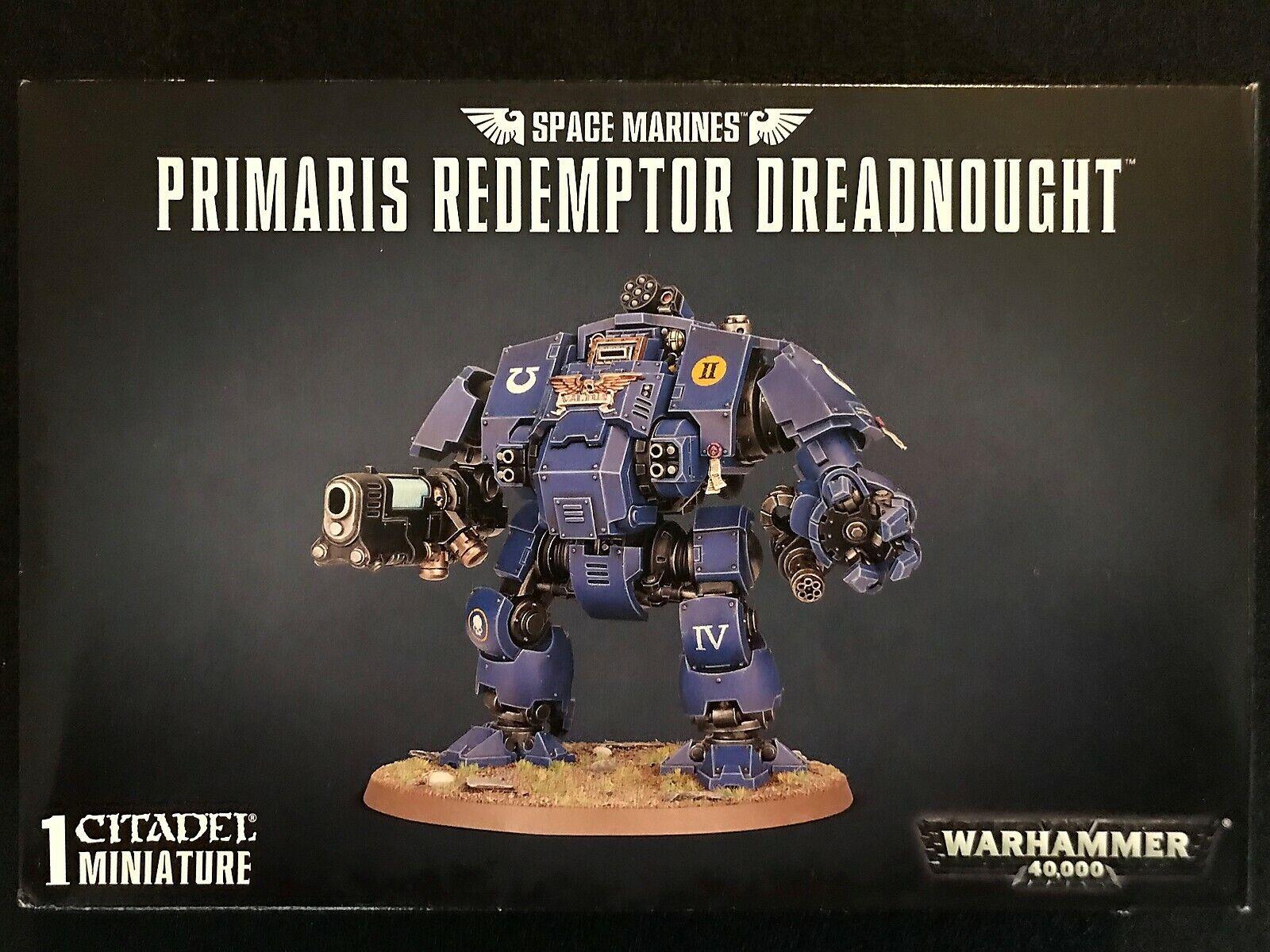 Nouveau  Space Marines Primaris  rougeemptor DREADNOUGHT WARHAMMER 40k  non   promotions promotionnelles